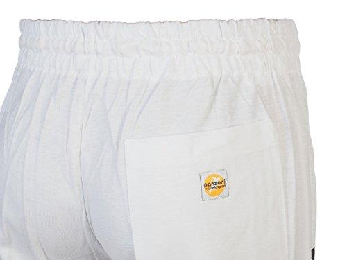 Panzeri Unito h, colore: bianco/nero, jersey-Pantaloni sportivi bianco