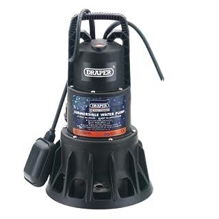 Draper 69690 320-Litres-per-Minute (Maximum) 230-Volt 1,000-Watt Submersible Dirty Water Pump with Float Switch