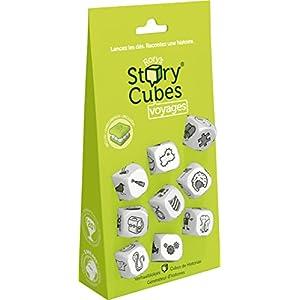 Asmodee- Story Cubes Viajes Blister – Español, Color Verde (ASMRSC103ML1)