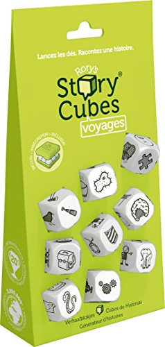 Asmodee - Story Cubes Starter Blister Voyages - Vert, STO3HANG