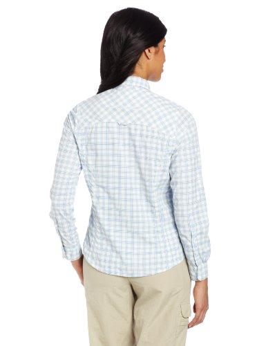 Craghoppers Damen Nosilife Alexandra Check Shirt Cornflower Combo