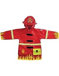Kidorable–chubasquero bombero (pequeño (80–86cm 2–3años))
