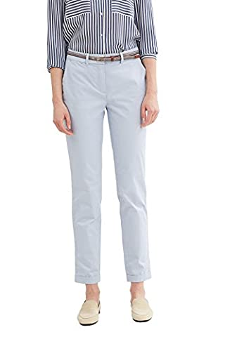 ESPRIT Collection 037eo1b001, Pantalon Femme, Bleu (Light Blue), 38 /L32 (Taille Fabricant: 38)