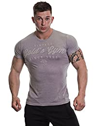 Gold's Gym Emboss Print T-Shirt