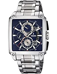 Festina Mens Chronograph Quartz Watch with Stainless Steel Strap F20264/2