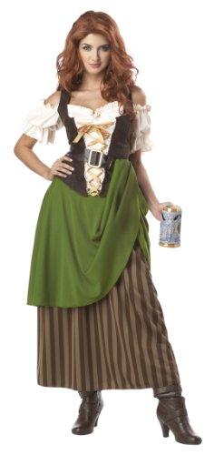 Kostüm bayerisches Madl für Damen XL