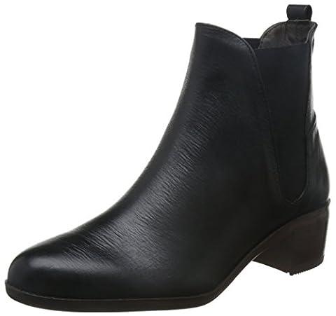 Hudson Compound Calf, Women Chelsea Boots, Black (Black), 5 UK
