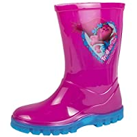 Lora Dora Trolls Girls Wellington Boots