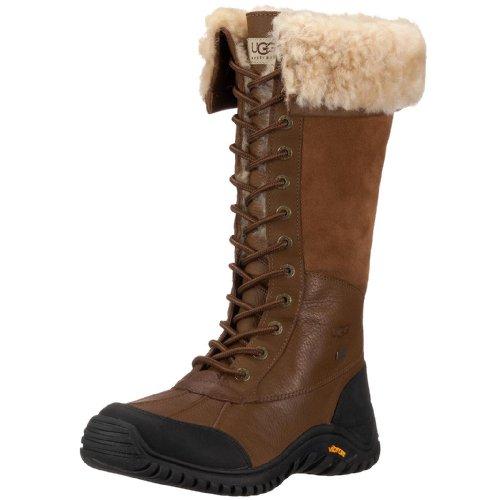 Ugg Australia Adirondack Tall Donna US 5 Marrone Stivale da Inverno