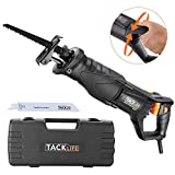 Best Reciprocating Saws - 850W Reciprocating Saw, Rotatable Hand Shank, Tacklife RPRS01A Review