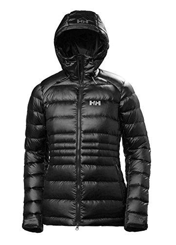 Helly Hansen W VANIR Icefall Down Jacket Chaqueta Rell, Mujer, Negro Black, L