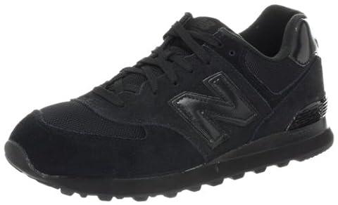 New Balance M574TBK-574, Men Training Running Shoes, Black (Black 001),