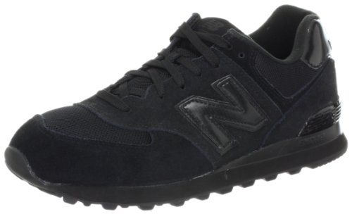 New Balance M574TBK-574, Men Training Running Shoes, Black (Black 001), 7.5 UK (41 1/2 EU)