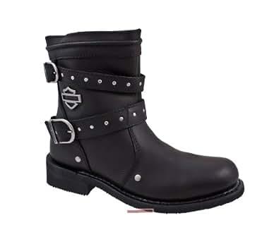 Harley-Davidson , Chaussures de marche nordique pour femme noir - - Noir - noir, ladies UK 8 / EU 41 EU