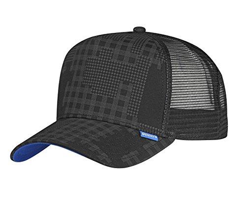 DJINNS - Camou (black) - High Fitted Trucker Cap