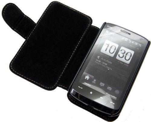 Book-Style Handytasche fuer - HTC Touch HD - Tasche Etui Huelle Schutzhuelle