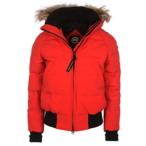 Canada-Goose-Ladies-Savona-Bomber-Jacket-In-Red