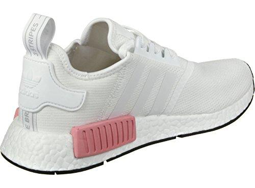 """Damen Sneakers """"NMD_R1"""" Weiß Pink"""