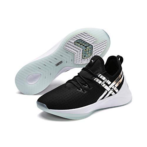 Puma Damen Jaab XT TZ Fitnessschuhe, Weiß Black-Fair Aqua, 41 EU