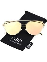 CGID Moderne Modische Spiegel Polarisierte Katzenauge Sonnenbrille Brille UV400