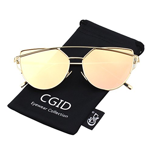 CGID-Womens-Modern-Fashion-Mirror-Polarized-Cateye-Sunglasses-Goggles-UV400
