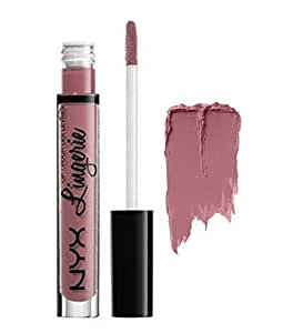 Nyx Cosmetics Lingerie Liquid Lipstick ~ Embellishment (Muted Purple) ~