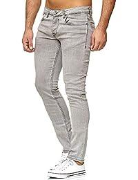 Tazzio 16533 Jean Coupe Slim pour Homme Style Stretch Denim 75c8f01e87fa