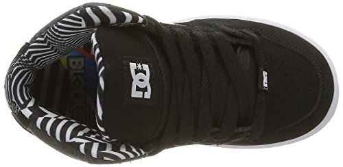 DC Shoes  Rebound KB, Sneakers basses garçon Noir (Xkwb)