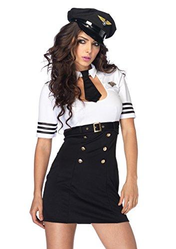 First Class Captain Kostüm - LEG AVENUE 83839 - First