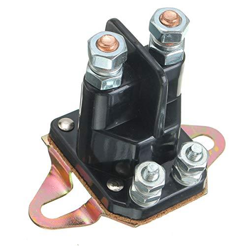 RENCALO 12V Starter Solenoid Relay Schütz Motor für Briggs & Stratton MTD -