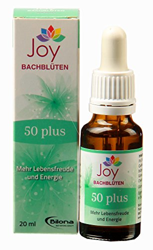 50plus – Bachblüten Komplexmittel, 20 ml Stockbottle