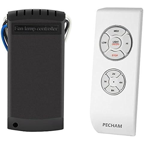 PECHAM [Techo Ventilador de control remoto] universal del Los ventiladores de techo y la luz ventilador de techo El control remoto