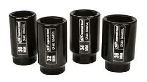 Ingersoll Rand Sk4m4l 1/5,1cm 4pièces métriques Écrou d'essieu kit Ensemble de douille à impact