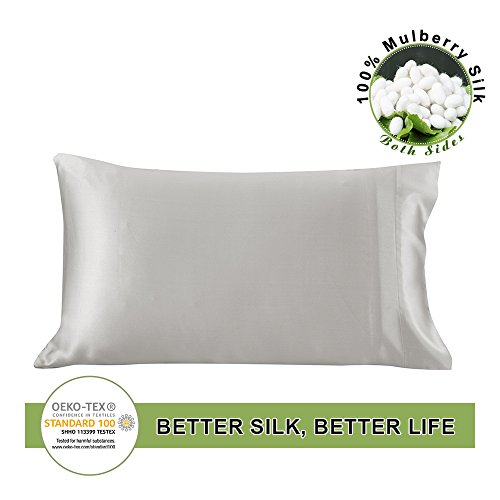 LilySilk Funda Almohada 100% Seda Mora Natural 19