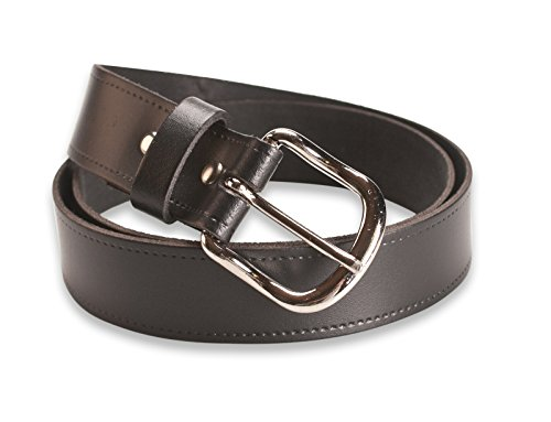 Hawkdale Leather Belt Men 1.25 Inch - Black, Brown Suit Trouser - Made In The UK # 804-400