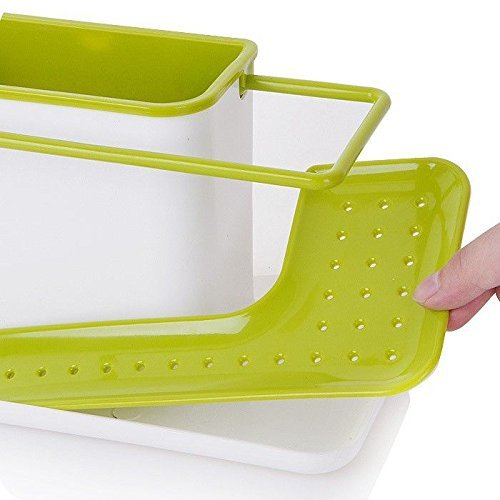 LMS Plastic 3-in-1 Stand for Kitchen Sink (Multicolor)