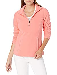 Amazon Essentials Quarter-zip Polar Fleece Jacket - fleece-outerwear-jackets Mujer