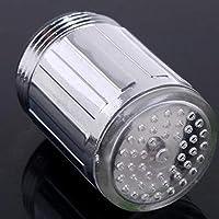 Fantsatic LED Light Water Faucet 7 colores que cambian de brillo Resplandor del chorro de agua Light Light Home Accessories