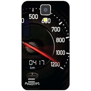 Samsung I9500 Galaxy S4 Speedometre Matte Finish Phone Cover