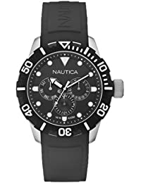 Nautica NSR 101 A13643G - Reloj de cuarzo unisex, color negro