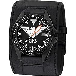 KHS Mens Watch MissionTimer 3 Eagle One KHS.MTE.LK