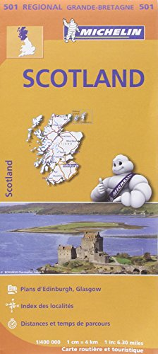 Carte Ecosse Michelin par Collectif MICHELIN