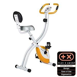41W1u4plPwL. SS300 Ultrasport Unisex F-Bike Advanced Exercise Bike, Display LCD, Home Trainer Pieghevole, Livelli di Resistenza Regolabili…