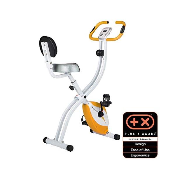 Ultrasport Unisex F-Bike Advanced Exercise Bike, Display LCD, Home Trainer Pieghevole, Livelli di Resistenza Regolabili… 1 spesavip
