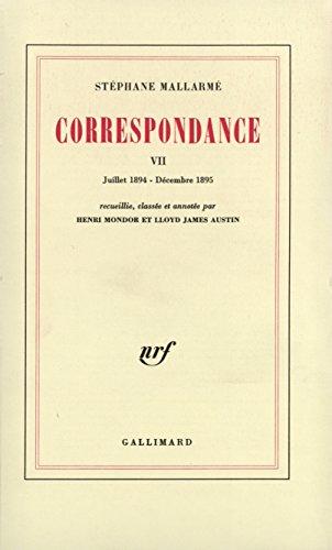 Correspondance (Tome 7-Juillet 1894 - Décembre 1895)