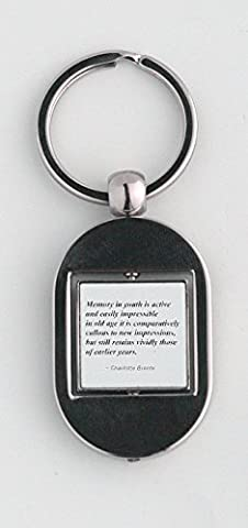Key ring with Memory in youth is active and easily