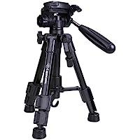 Mini Dreibeinstativ - Camopro 62 cm Leichtes Klein Mini-Stativ Kamera Stativ Fotostativ für Kameras, iPhones, Smartphones und Fernrohr mit 3-Wege-Kopf, Schnellwechselplatte und Tragetasche