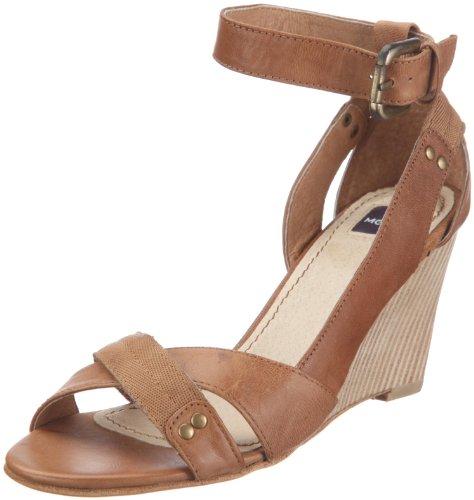 Mexx Damen Govy-High Heeled Fashion-Sandalen, Beige/Sand, 41 EU