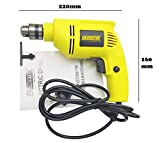 #10: Cheston 10mm Powerful Drill Machine Reversible Variable Speed for Wall, Metal, Wood Drilling