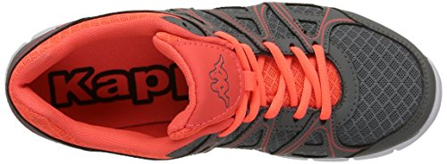Kappa Ulaker, Multisport Outdoor Femme Gris (Grey/Red Coral)